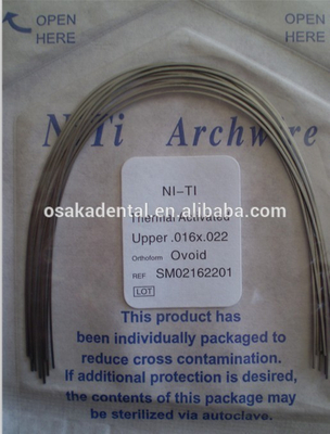Excellent quality Thermally Acticated NiTi Archwires with best Price