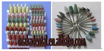 Rubber Polish Bur/dental rubber polishing burs/dental burs