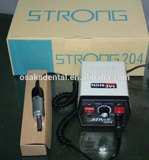 35000rpm strong 204 electric portable micromotor dental polishing handpiece