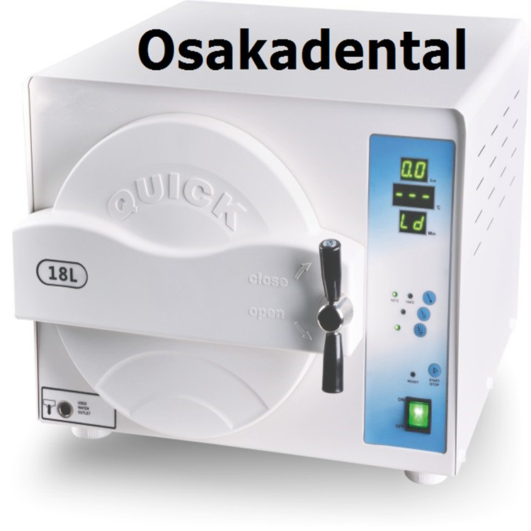 Dental Equipment 18L Class N Dental Autoclave / Sterilizer for Sterilizing Instrument