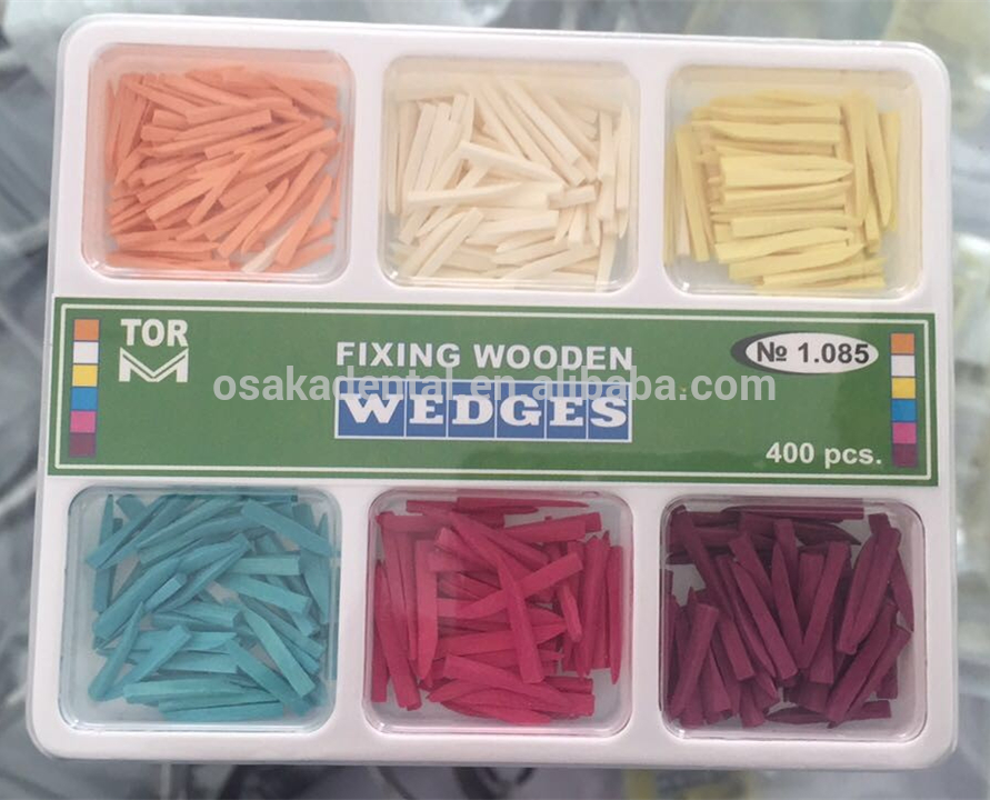 Disposable Dental Material Fixing Wooden Wedges