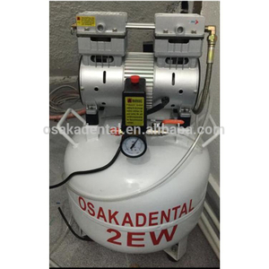 One for two dental unit Silent Oil Free Dental Air Compressor