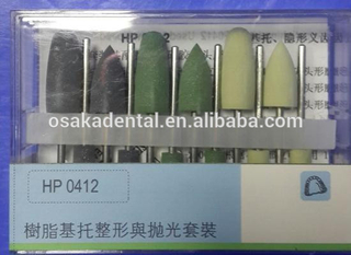Dental polish Bur Teeth polishing kit diamond bur polish bur kit Low Speed Bur Dental Surgical bur HP0412