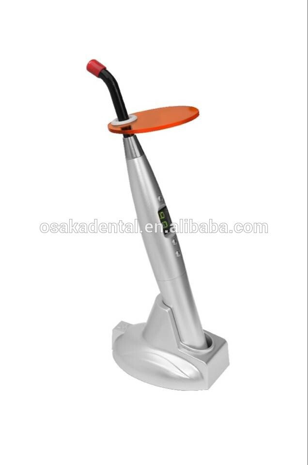 NEW fashion model dental supply rainbow led curing light