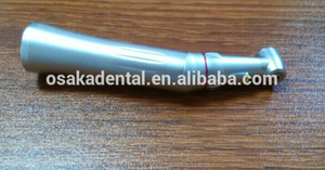 Dental LED 1:5 Ratio Push Button Increasing Contra Angle Dental Handpiece