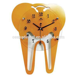Teeth Shape Clock for Decoration