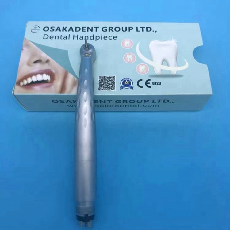 A Osakadental New 8 Hole Water Spray Dental High Speed Handpiece with LED light