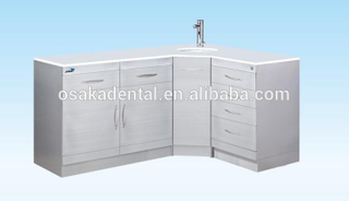hot sales Stainless Steel Dental Cabinet medical cabinet with handle type