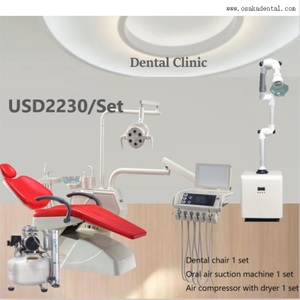 Luxury Dental Chair Unit with Sensor Lamp