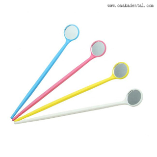 Disposable Plastic Mouth Mirror Dental Consumables