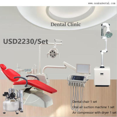How does a dental chair work?