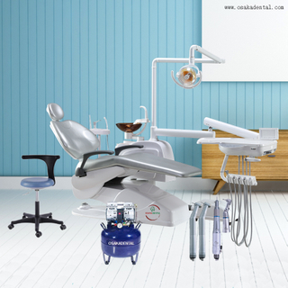 High Quality Cheap Dental Chair Unit with Sensor Lamp