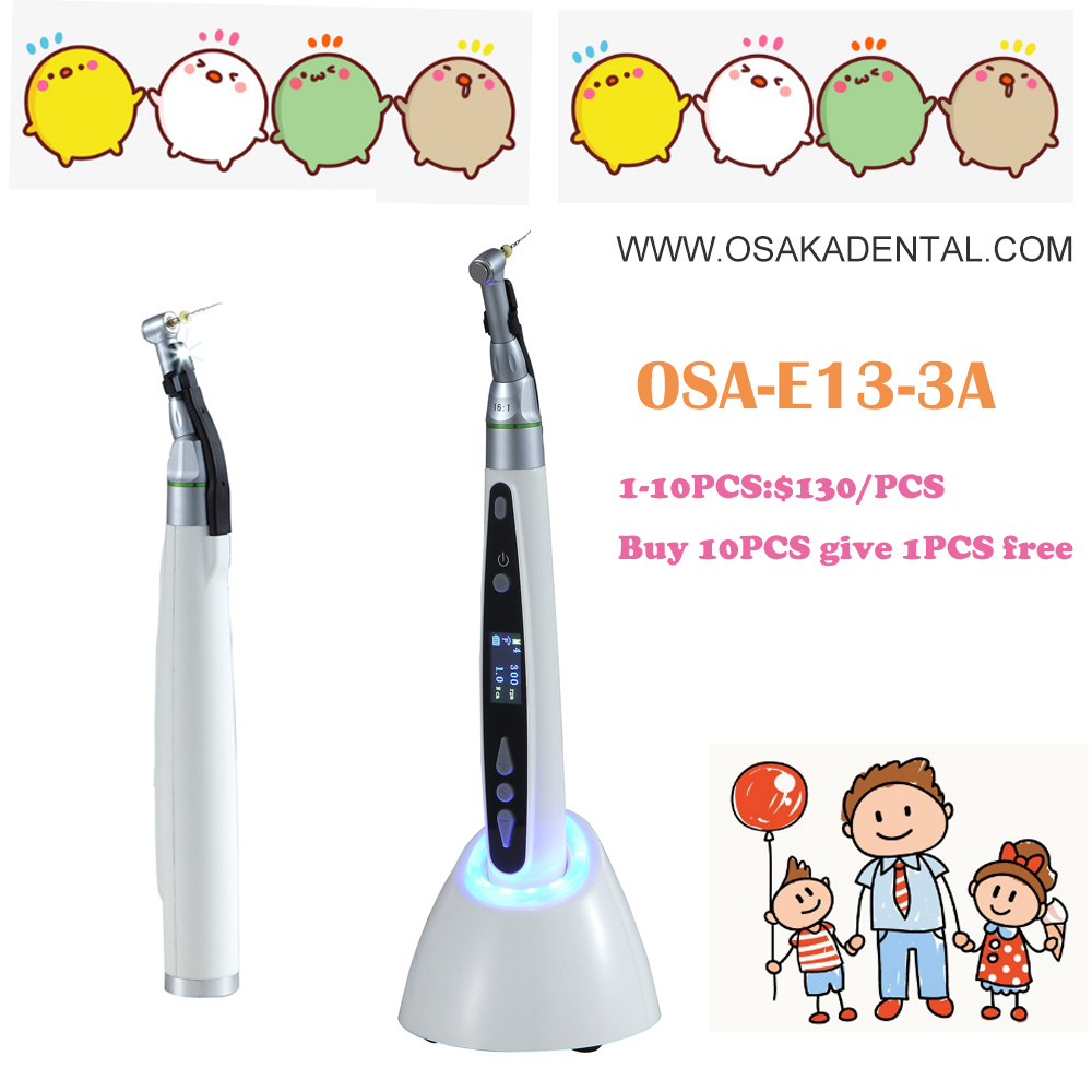 Dental wireless LED screen with light Endo motor with contra handpiece