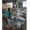 Dental chair with 8 light bulb LED lamp