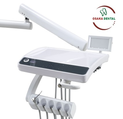 New Design Dental Unit Dental Chair with 6 LED Lamp and Sensor X-Film